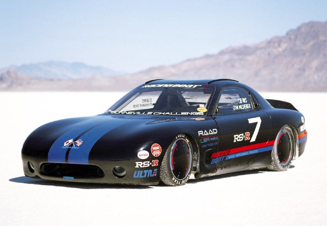 Today this car still stands as the WORLD'S FASTEST RX-7!