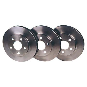 RX-7 FD COMPLETE SET OF STANDARD REPLACEMENT BRAKE DISCS