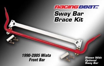 Mazda MX5 (90-05) Racing Beat Anti Roll Bar Brace Kit  to fit all NA/NB Models