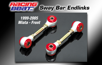 Mazda MX5 (99-05) Racing Beat Roll Bar End-Links