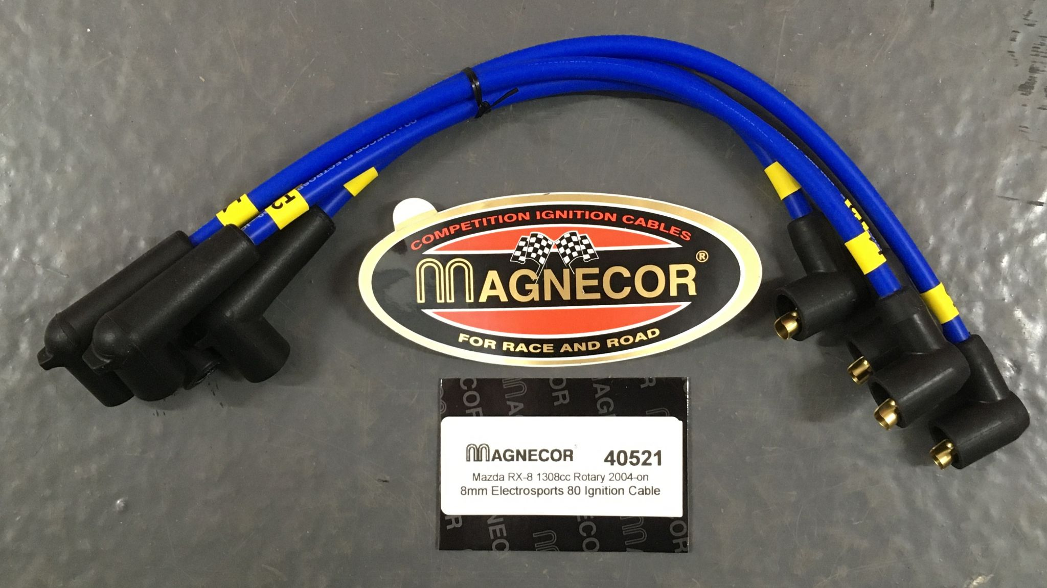 Mazda RX8 Magnecor Ignition Leads set