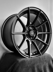 MX5 NA, NB & ND Advanti Racing Storm S1 - Matte Black  16x7.5 ET35