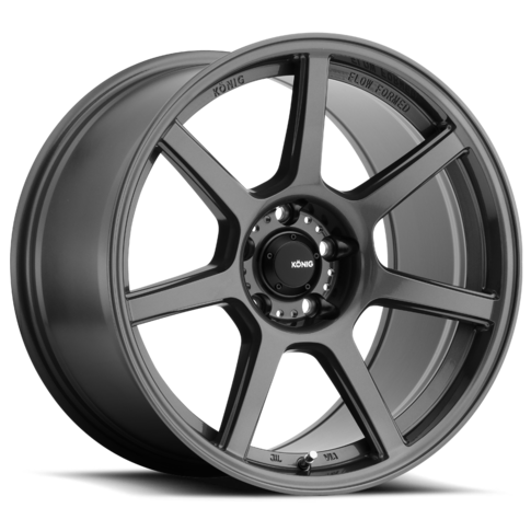 MX5 NC Konig Ultraform 17x8, 5x114, +45mm - Gloss Graphite